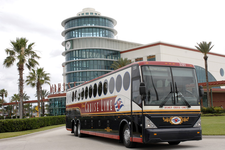 Disney Cruise Line Bus Transportation