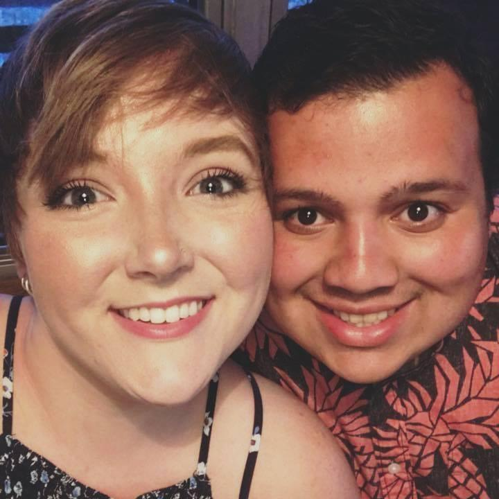 Laura Zimmerman and Edgar Flores